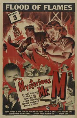 The Mysterious Mr. M - 11 x 17 Movie Poster - Style K