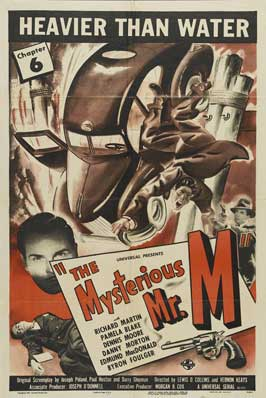 The Mysterious Mr. M - 27 x 40 Movie Poster - Style D
