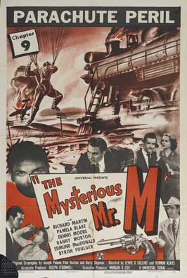 The Mysterious Mr. M - 27 x 40 Movie Poster - Style G