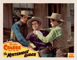 The Mysterious Rider - 11 x 14 Movie Poster - Style C