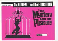 The Mystery and the Pleasure - 11 x 17 Movie Poster - Style A