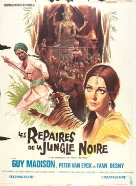 The Mystery of Thug Island - 11 x 17 Movie Poster - French Style A