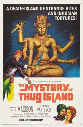 The Mystery of Thug Island - 11 x 17 Movie Poster - Style B