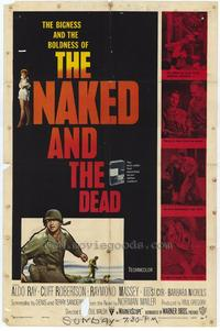 Naked and the Dead, The - 27 x 40 Movie Poster - Style A