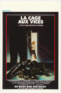 Naked Cage - 11 x 17 Movie Poster - Belgian Style A