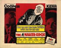 The Naked Edge - 22 x 28 Movie Poster - Half Sheet Style A