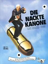 The Naked Gun - 27 x 40 Movie Poster - German Style A