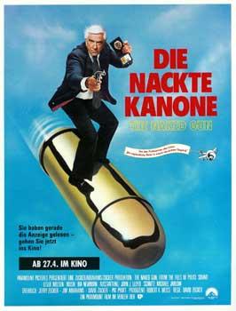 The Naked Gun - 27 x 40 Movie Poster - German Style B