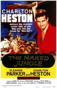 Naked Jungle - 11 x 17 Movie Poster - Style A
