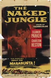 Naked Jungle - 11 x 17 Movie Poster - Style C