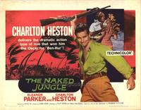 Naked Jungle - 22 x 28 Movie Poster - Half Sheet Style A