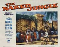 Naked Jungle - 11 x 14 Movie Poster - Style B