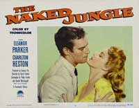 Naked Jungle - 11 x 14 Movie Poster - Style E