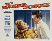 Naked Jungle - 11 x 14 Movie Poster - Style F