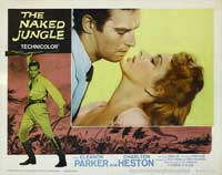 Naked Jungle - 11 x 14 Movie Poster - Style J