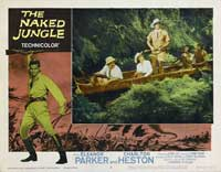 Naked Jungle - 11 x 14 Movie Poster - Style M
