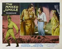 Naked Jungle - 11 x 14 Movie Poster - Style N