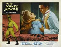 Naked Jungle - 11 x 14 Movie Poster - Style O