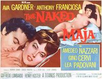 The Naked Maja - 11 x 14 Movie Poster - Style A