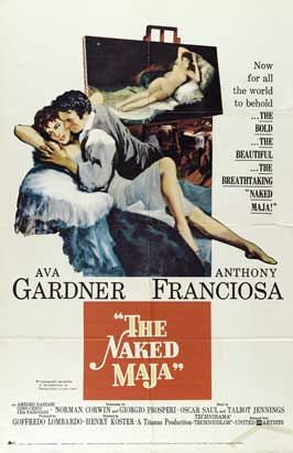 The Naked Maja - 27 x 40 Movie Poster - Style A