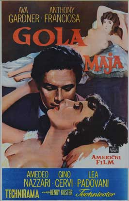 The Naked Maja - 27 x 40 Movie Poster - Style B