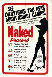 The Naked Peacock - 27 x 40 Movie Poster - Style A