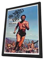 The Naked Prey - 11 x 17 Movie Poster - Style D - in Deluxe Wood Frame