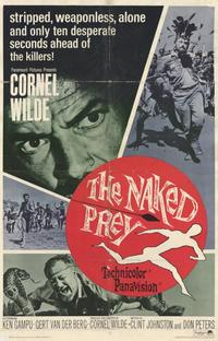 The Naked Prey - 11 x 17 Movie Poster - Style B