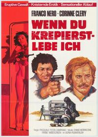 The Naked Prey - 11 x 17 Movie Poster - German Style A