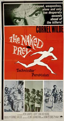 The Naked Prey - 20 x 40 Movie Poster - Style A