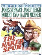 The Naked Spur - 11 x 17 Movie Poster - Style B