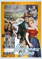 The Naked Spur - 11 x 17 Movie Poster - Italian Style A