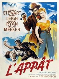 The Naked Spur - 27 x 40 Movie Poster - French Style A