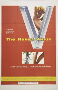 The Naked Venus - 11 x 17 Movie Poster - Style A