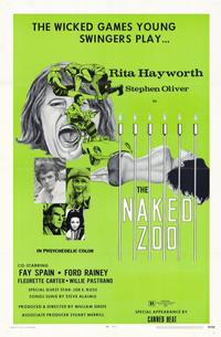The Naked Zoo - 11 x 17 Movie Poster - Style A