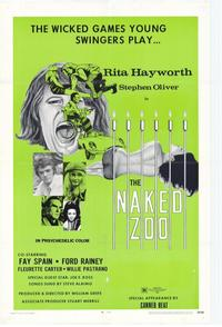The Naked Zoo - 27 x 40 Movie Poster - Style A