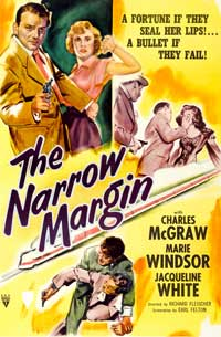The Narrow Margin - 11 x 17 Movie Poster - Style A