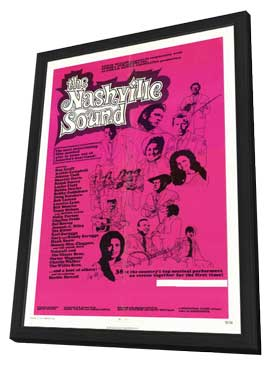 The Nashville Sound - 11 x 17 Movie Poster - Style A - in Deluxe Wood Frame