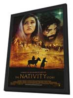 The Nativity Story - 27 x 40 Movie Poster - Style B - in Deluxe Wood Frame