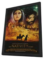 The Nativity Story - 11 x 17 Movie Poster - Style B - in Deluxe Wood Frame