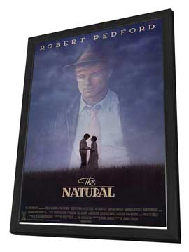 The Natural - 11 x 17 Movie Poster - Style B - in Deluxe Wood Frame
