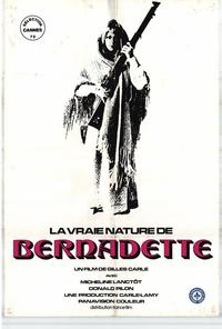 The Nature of Bernadette - 11 x 17 Movie Poster - Style A
