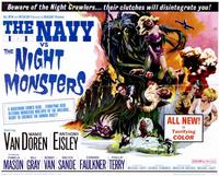 The Navy vs. the Night Monsters - 11 x 14 Movie Poster - Style A