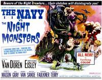 The Navy vs. the Night Monsters - 22 x 28 Movie Poster - Half Sheet Style A