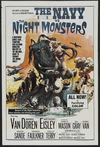 The Navy vs. the Night Monsters - 27 x 40 Movie Poster - Style A