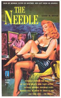 The Needle - 11 x 17 Retro Book Cover Poster