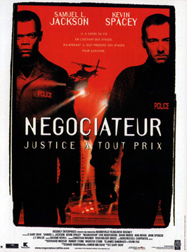 The Negotiator - 11 x 17 Movie Poster - French Style A