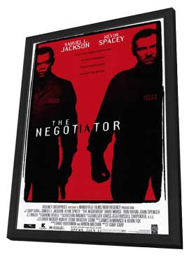The Negotiator - 11 x 17 Movie Poster - Style A - in Deluxe Wood Frame