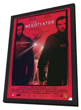 The Negotiator - 27 x 40 Movie Poster - Style B - in Deluxe Wood Frame
