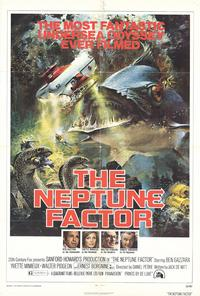 The Neptune Factor - 27 x 40 Movie Poster - Style A